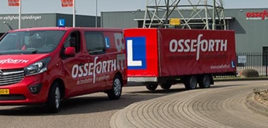 Aanhanger rijbewijs halen bij Osseforth